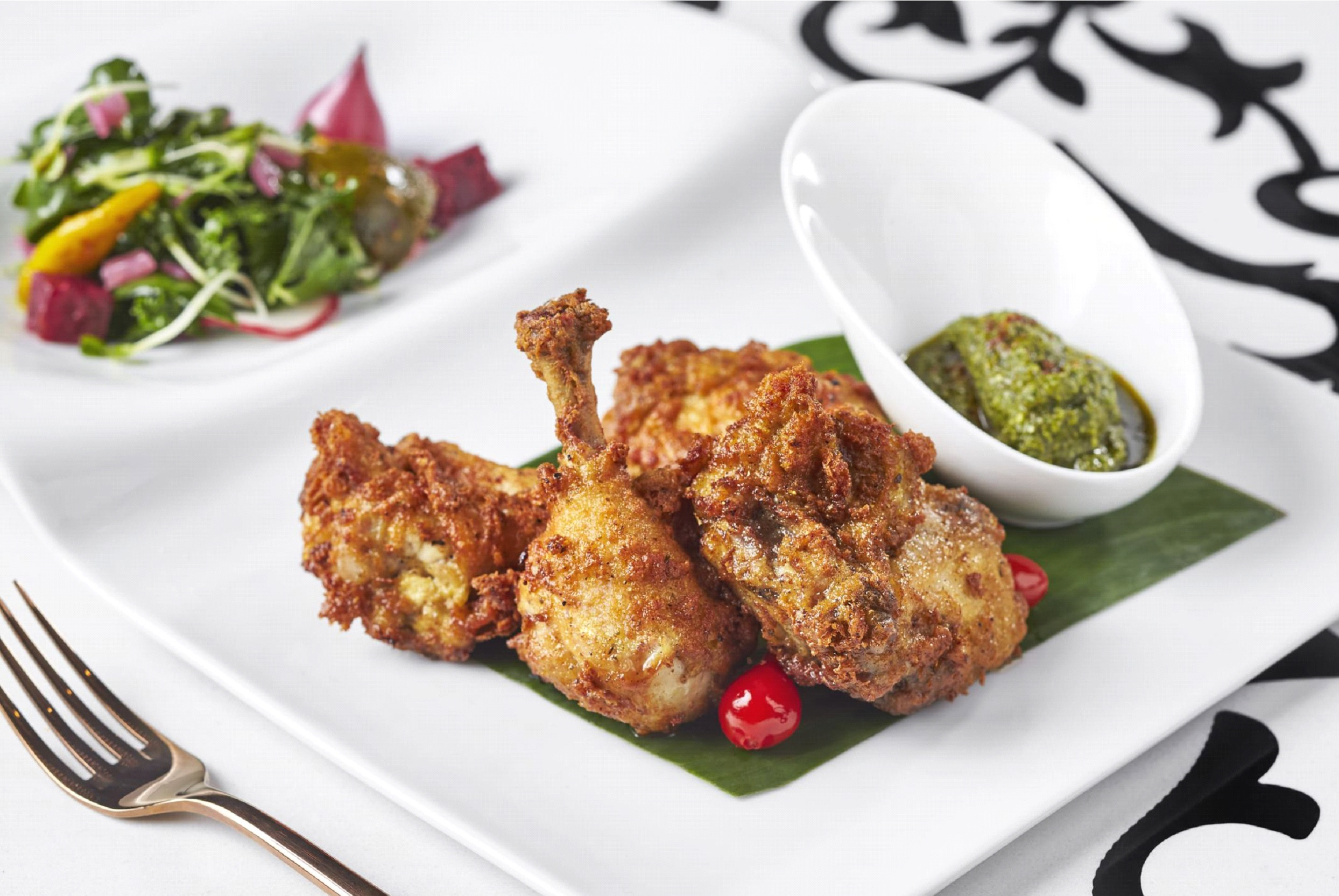 Bombay Velvet Fried Chicken
